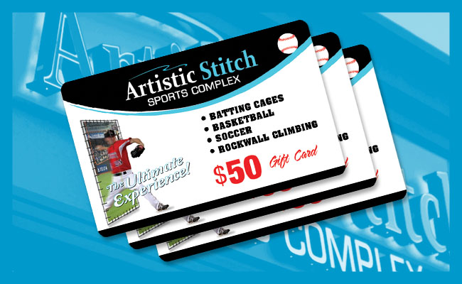 Artistic Stitch Gift Cards