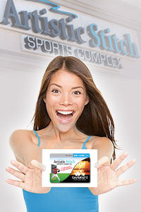 Artistic Stitch Sports Complex Gift Card