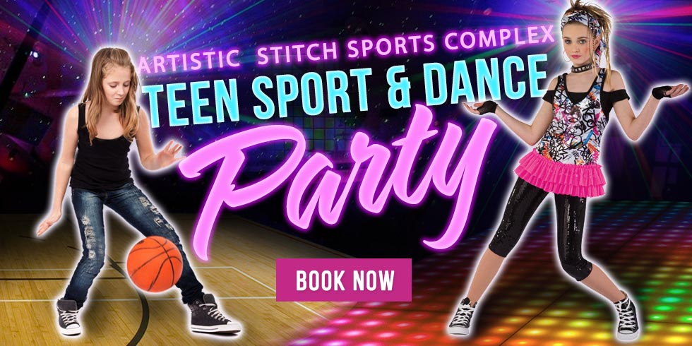 teen sport and dance party in Queens in NY