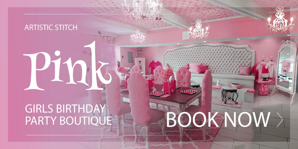 Banner with link to Birthday Party Place for Girls in Queens, NY